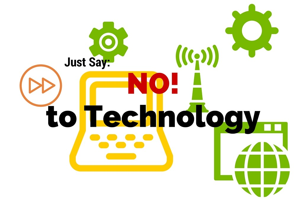 Technology Isn't Always the Solution!