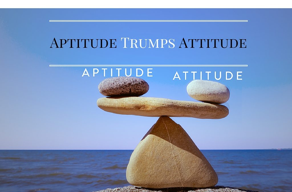 Use Aptitude as a Baseline for Hiring!
