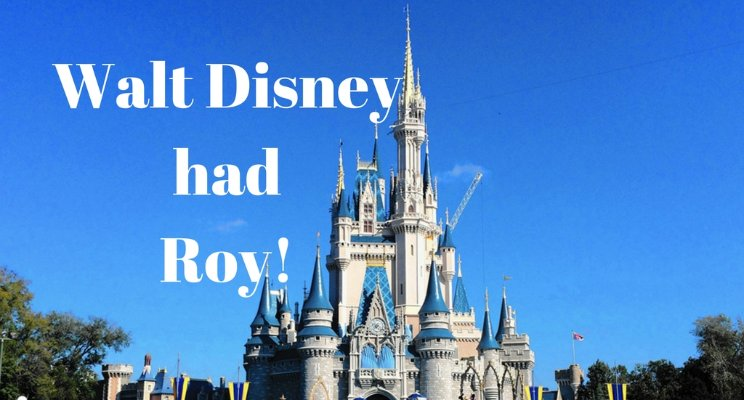 Roy Disney – behind the Magic!